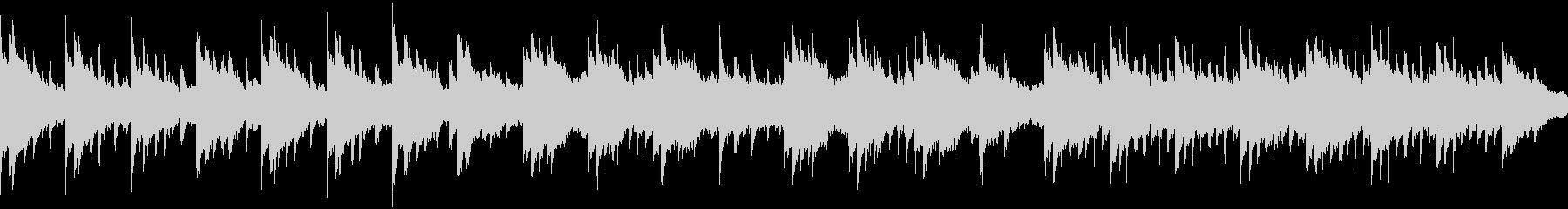 切ない、寂しい感じのピアノBGMの未再生の波形