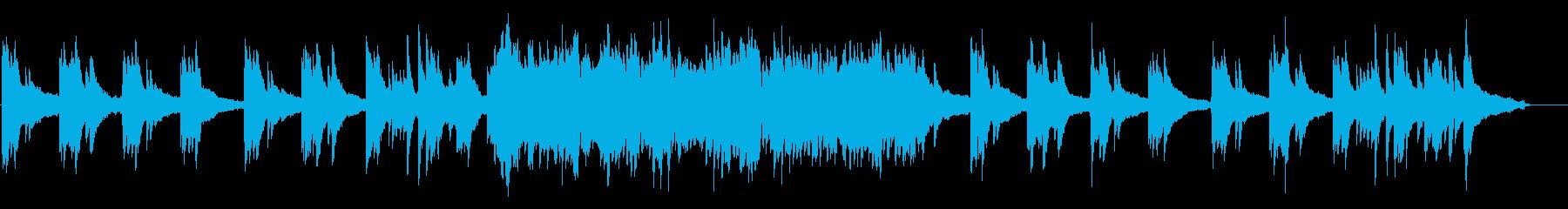 汎用性高!明るめ癒やしのソロピアノの再生済みの波形