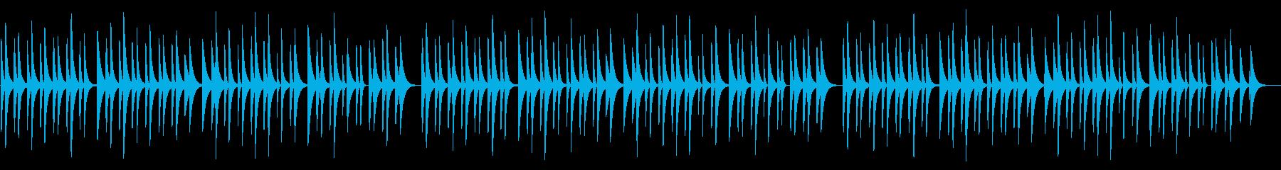 仰げば尊し 18弁オルゴールの再生済みの波形