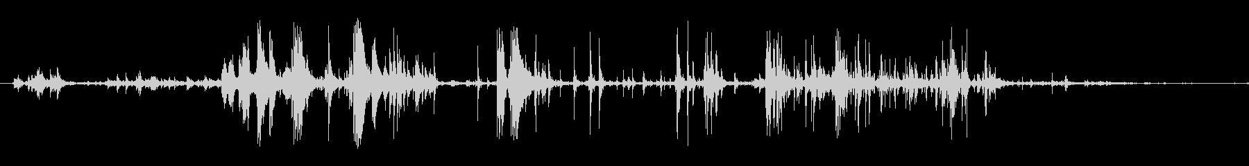 食べる音03(ポテトチップスなど)の未再生の波形