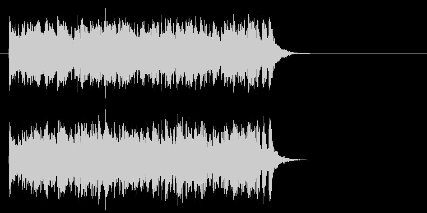 優しいポップフュージョン(サビ)の未再生の波形