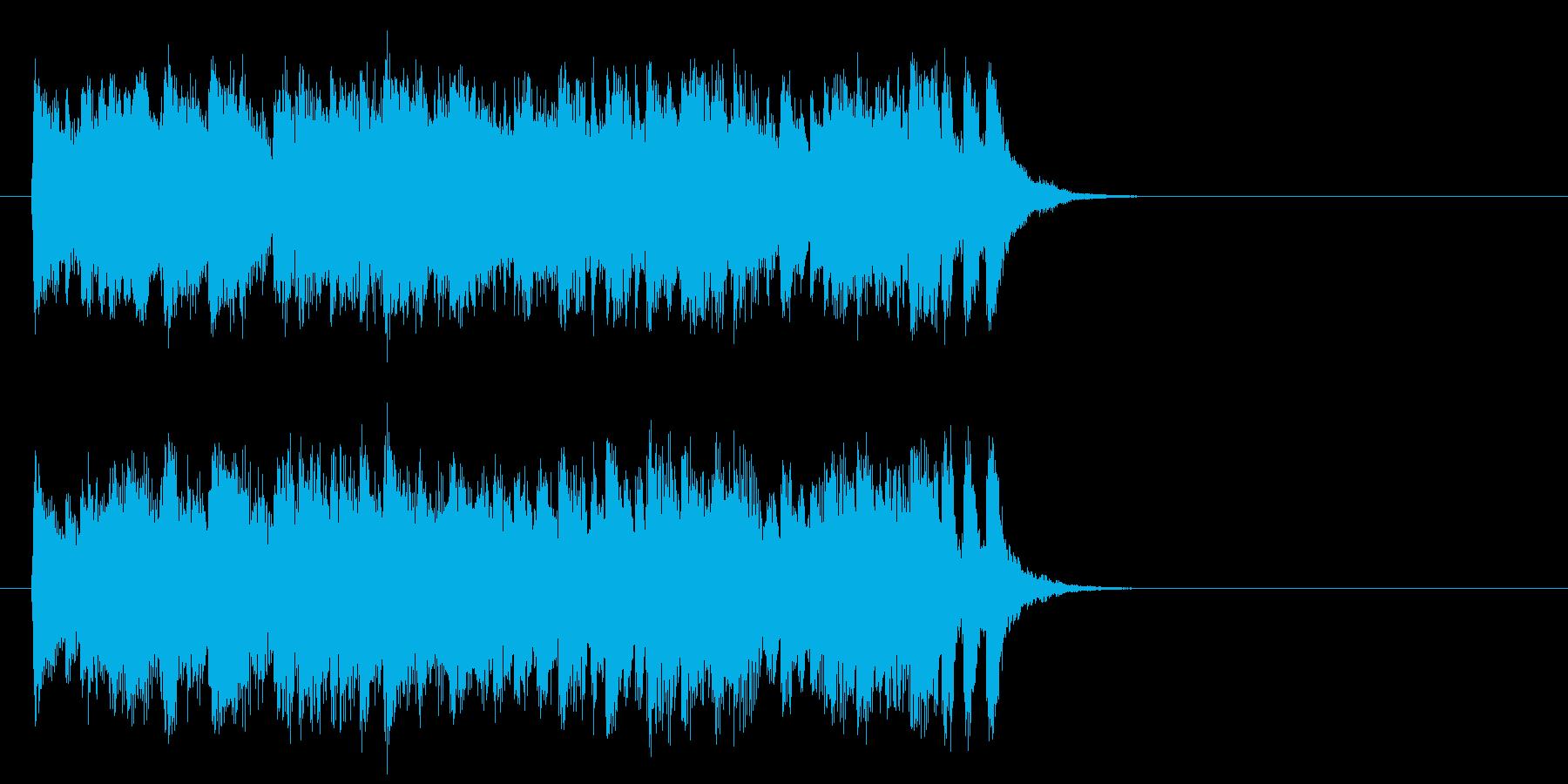 優しいポップフュージョン(サビ)の再生済みの波形