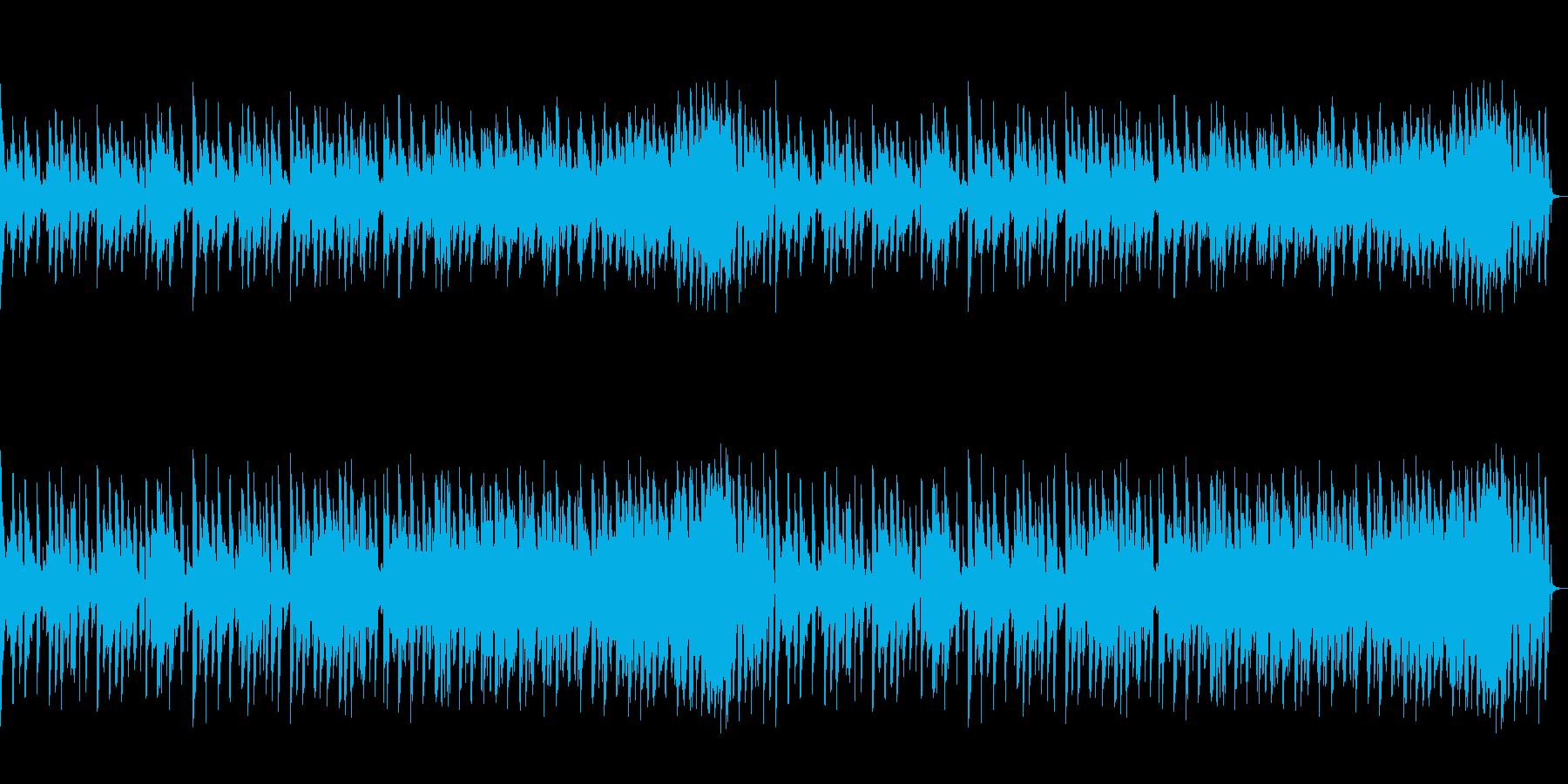 コミカルな有名曲のアコギアレンジの再生済みの波形