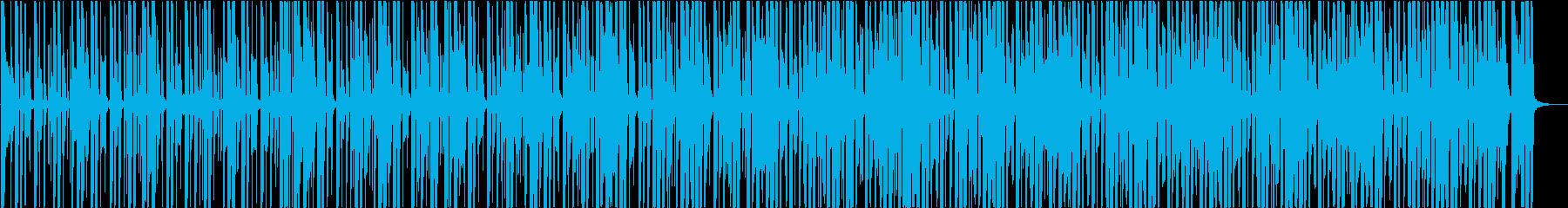 夏、ヒップホップ、レゲエ、おかしいの再生済みの波形