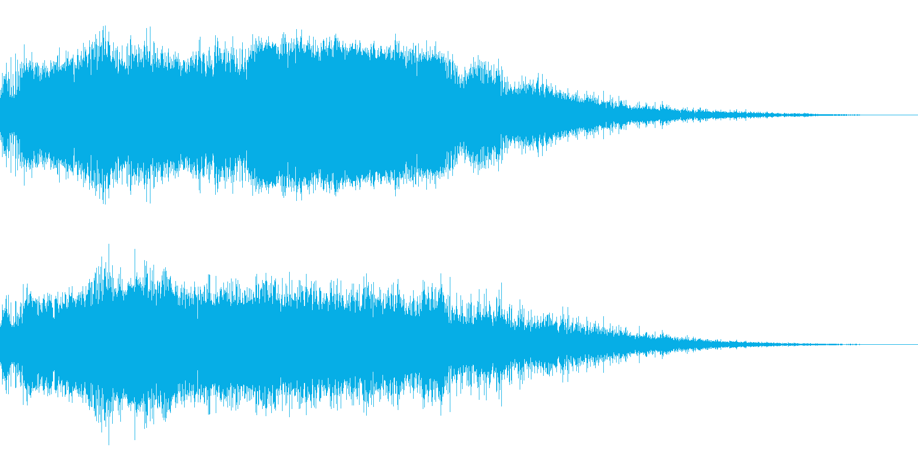 ロボットの合体の再生済みの波形