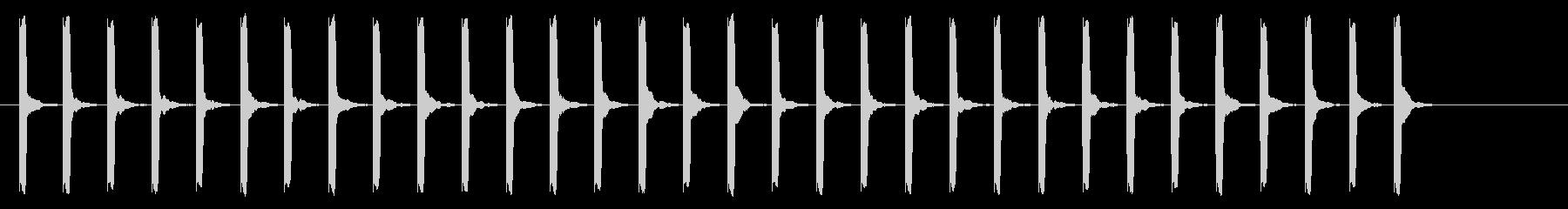 心電図の音-5-10(BPM130)の未再生の波形