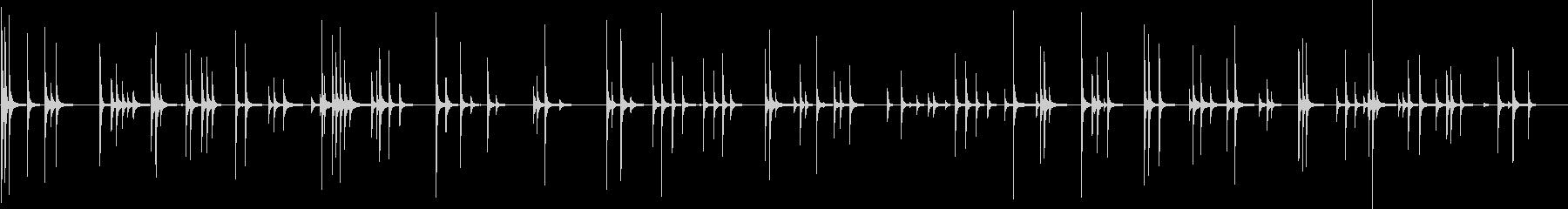 ヘビーメタルカウベル:ランダムラト...の未再生の波形