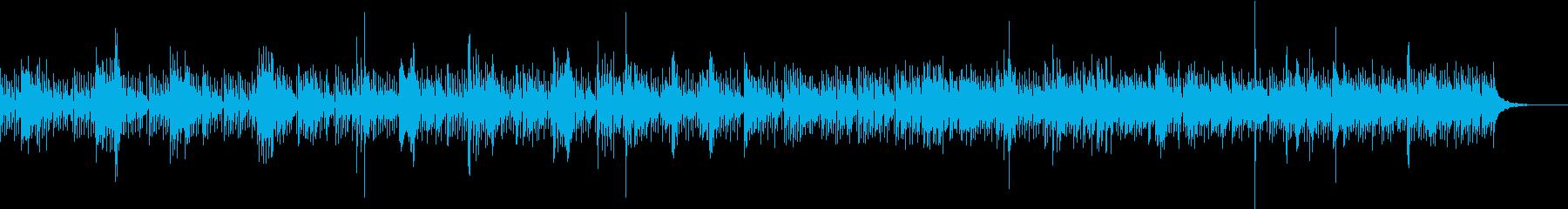 ビーチに似合うウクレレ生演奏の再生済みの波形