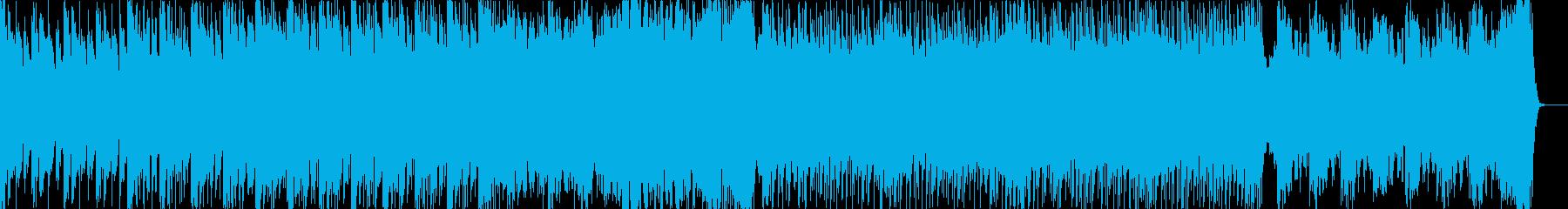 壮大なシネマティックなドラムンベースの再生済みの波形