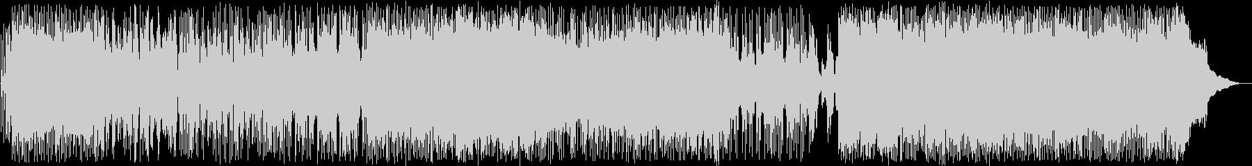 スピード感溢れるドラムが印象的なポップスの未再生の波形