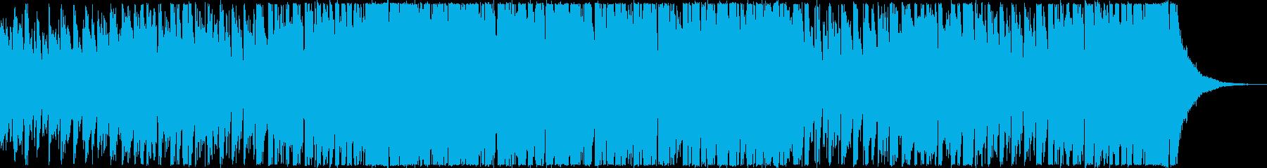 かわいいペット映像・オープニング・56秒の再生済みの波形