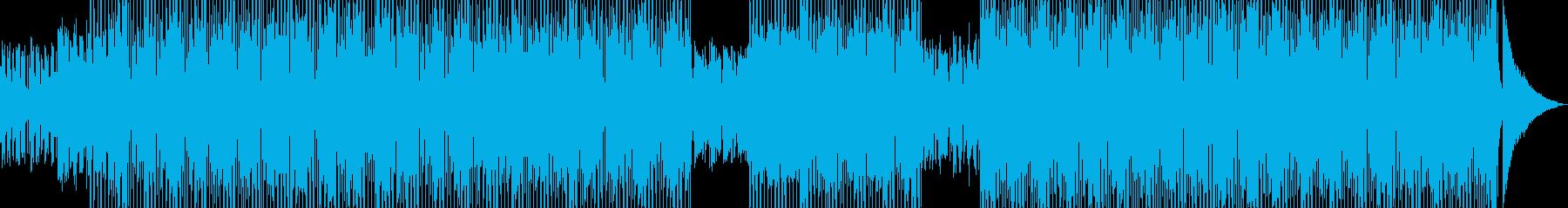 ログカフェをイメージしたテクノ A★の再生済みの波形