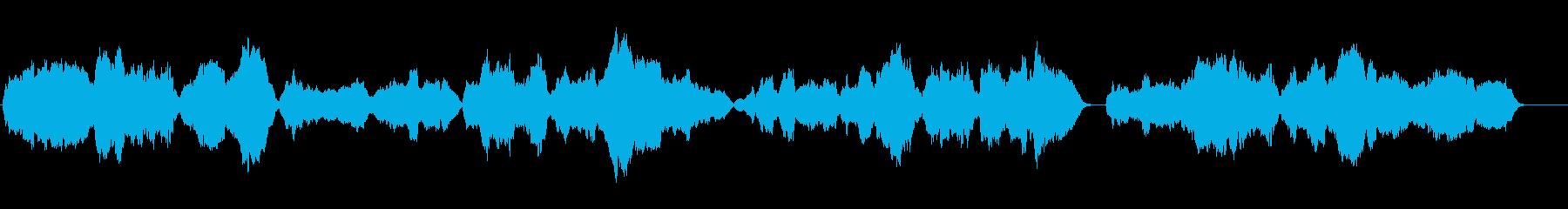 童話のような雰囲気の生サックス四重奏の再生済みの波形