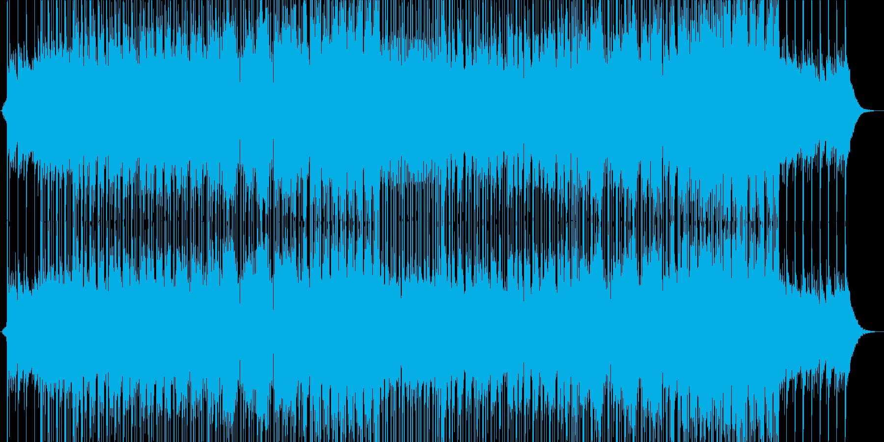 もっと遠くへの再生済みの波形