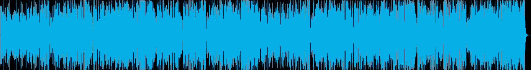 爽やかな日常BGMの再生済みの波形