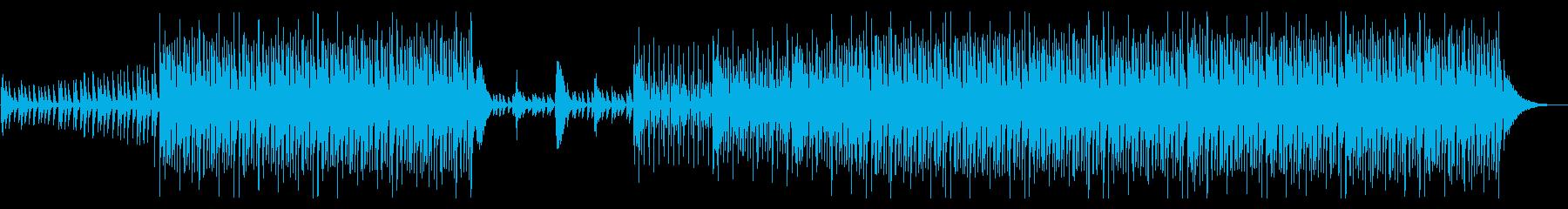 夏の海をイメージしたトロピカルハウスの再生済みの波形