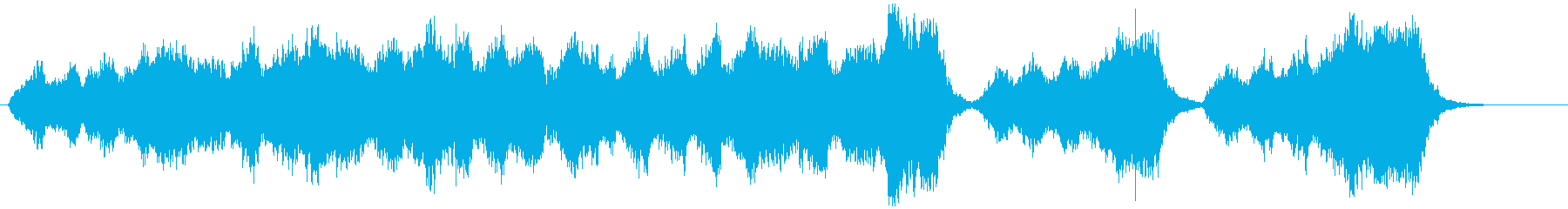 心が清められるような弦楽四部とハープの再生済みの波形