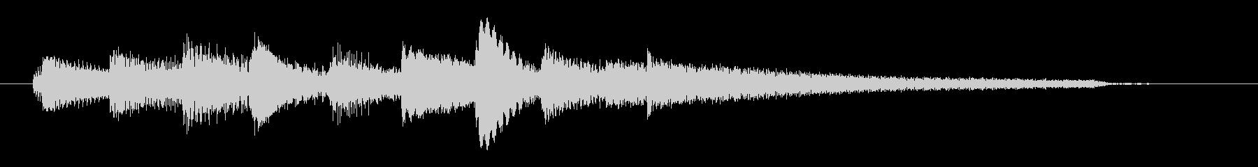 チャプター・場面転換等にピアノジングルNの未再生の波形
