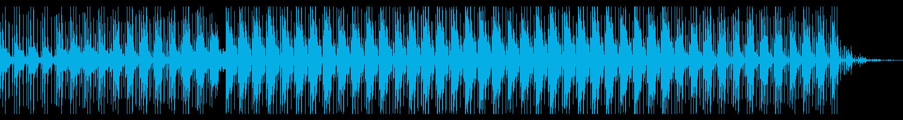明るくて爽やかなリズムが心地良いBGMの再生済みの波形
