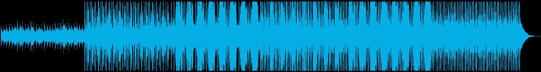 かなりニュートラルなミッドテンポの...の再生済みの波形