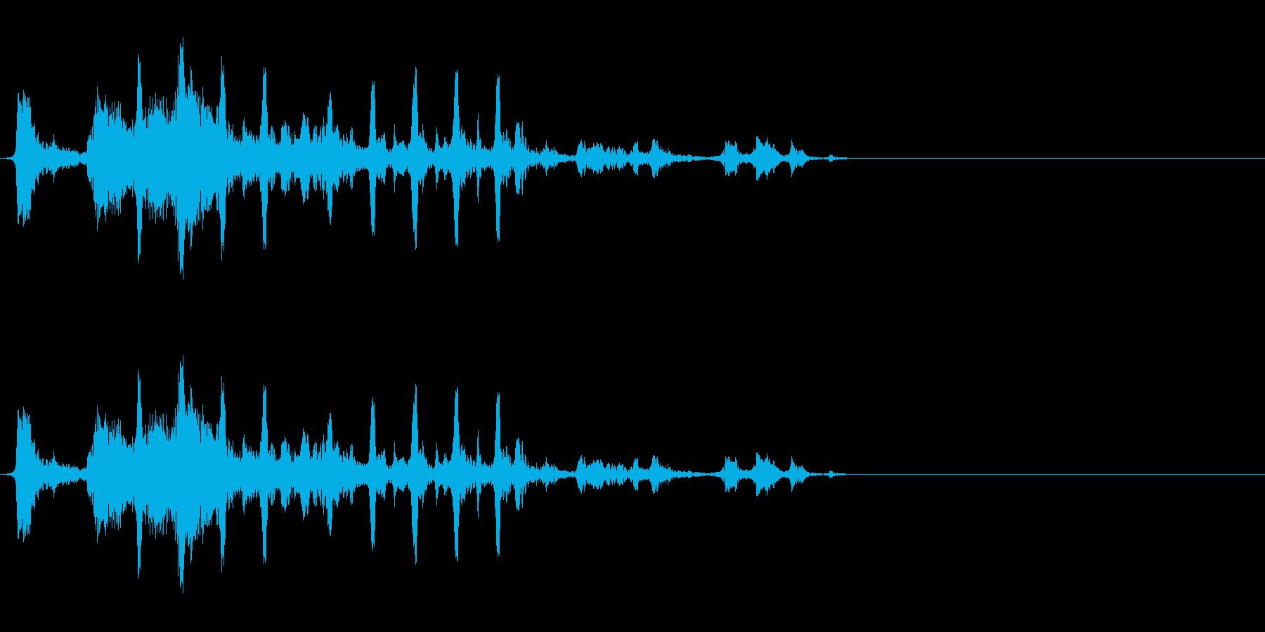 小鳥 4の再生済みの波形
