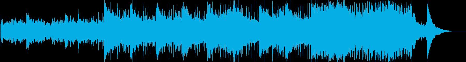 ピアノと弦が美しいコーポレート系BGMの再生済みの波形