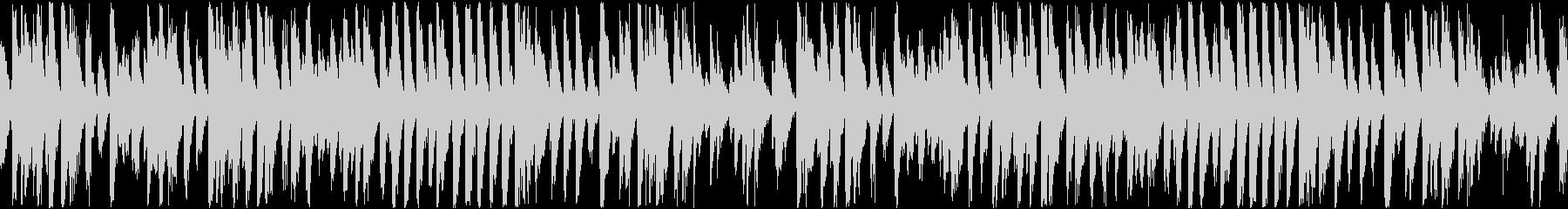 かわいいコミカルなラグタイム(ループ)の未再生の波形
