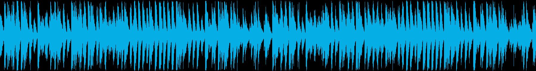 かわいいコミカルなラグタイム(ループ)の再生済みの波形