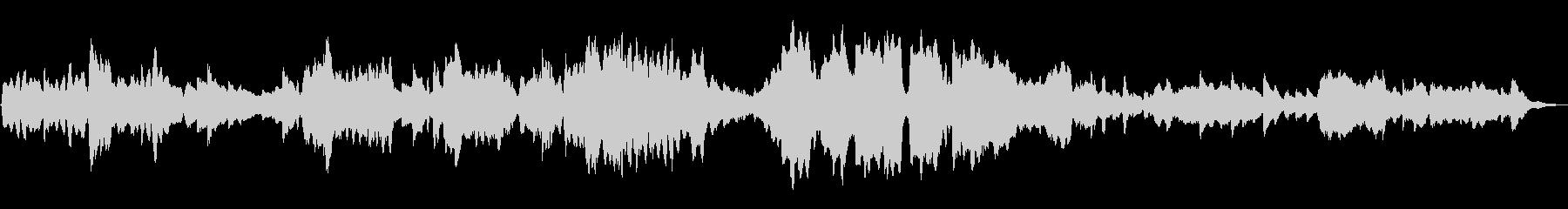 不思議な森 ループ曲 フルートとハープの未再生の波形