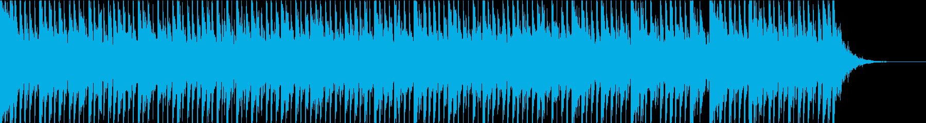 科学ドキュメンタリーBGMの再生済みの波形
