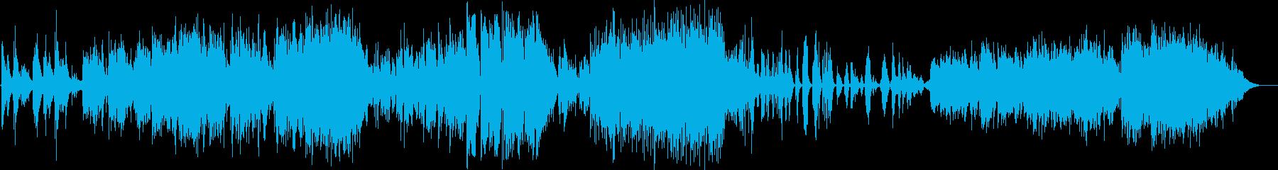 音響機器素朴なリラックス。の再生済みの波形