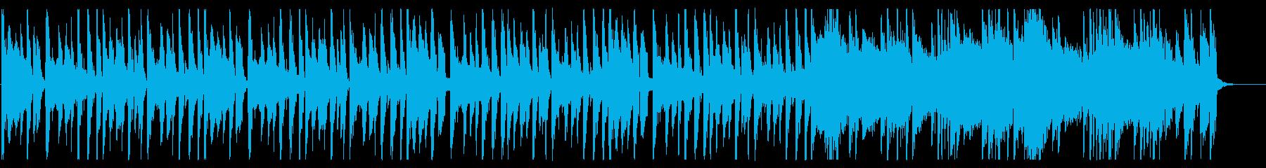 浮遊感が溢れるBGM_No580_2の再生済みの波形