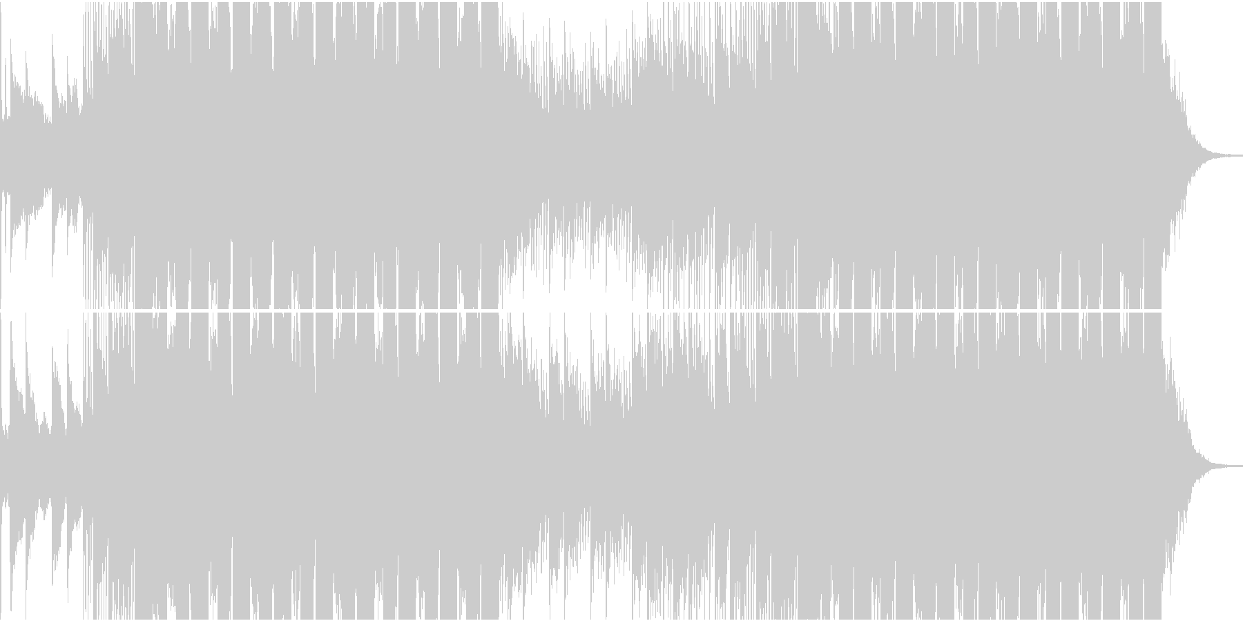 ダブステップ スタイリッシュ テク...の未再生の波形