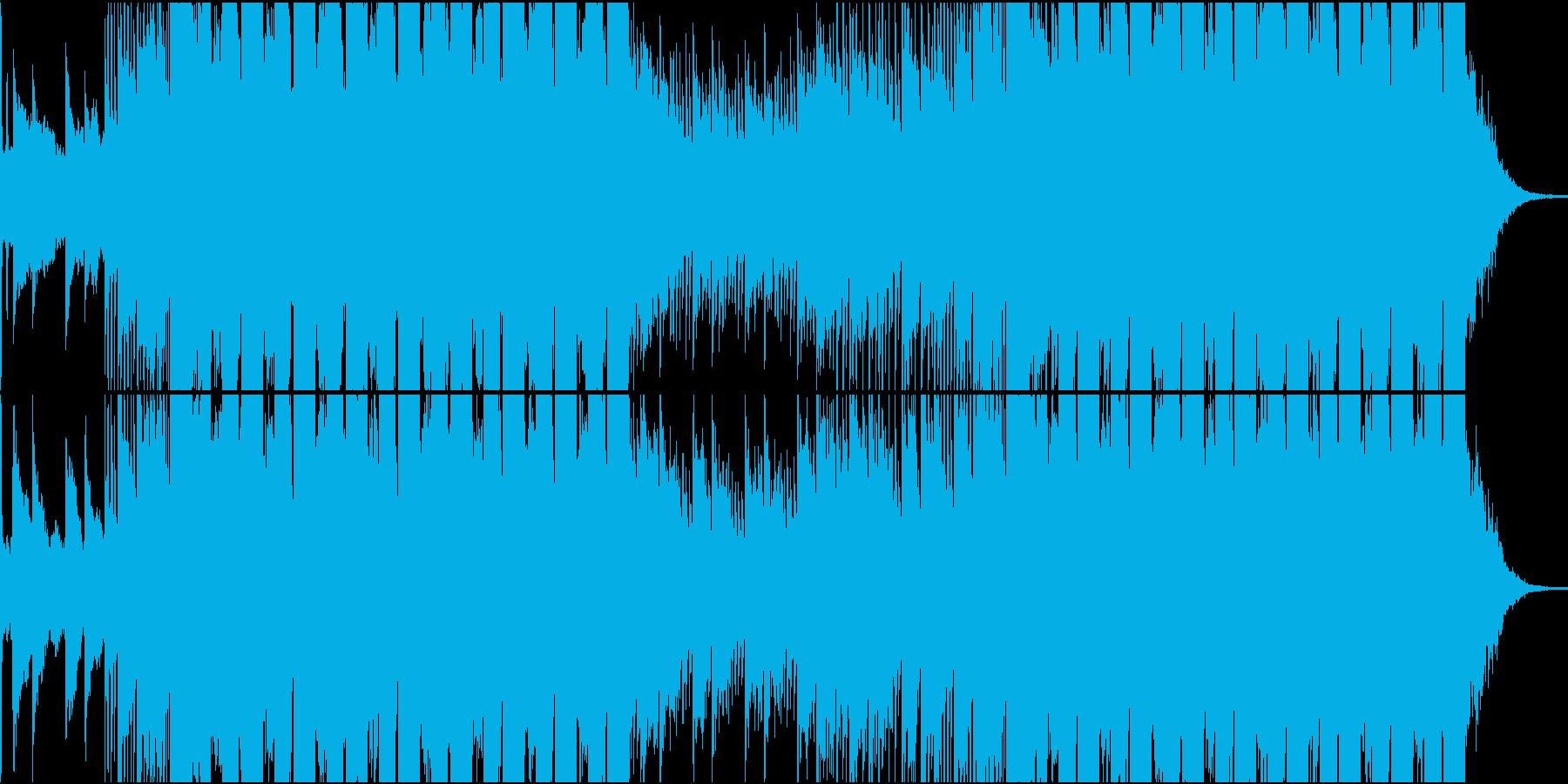 ダブステップ スタイリッシュ テク...の再生済みの波形