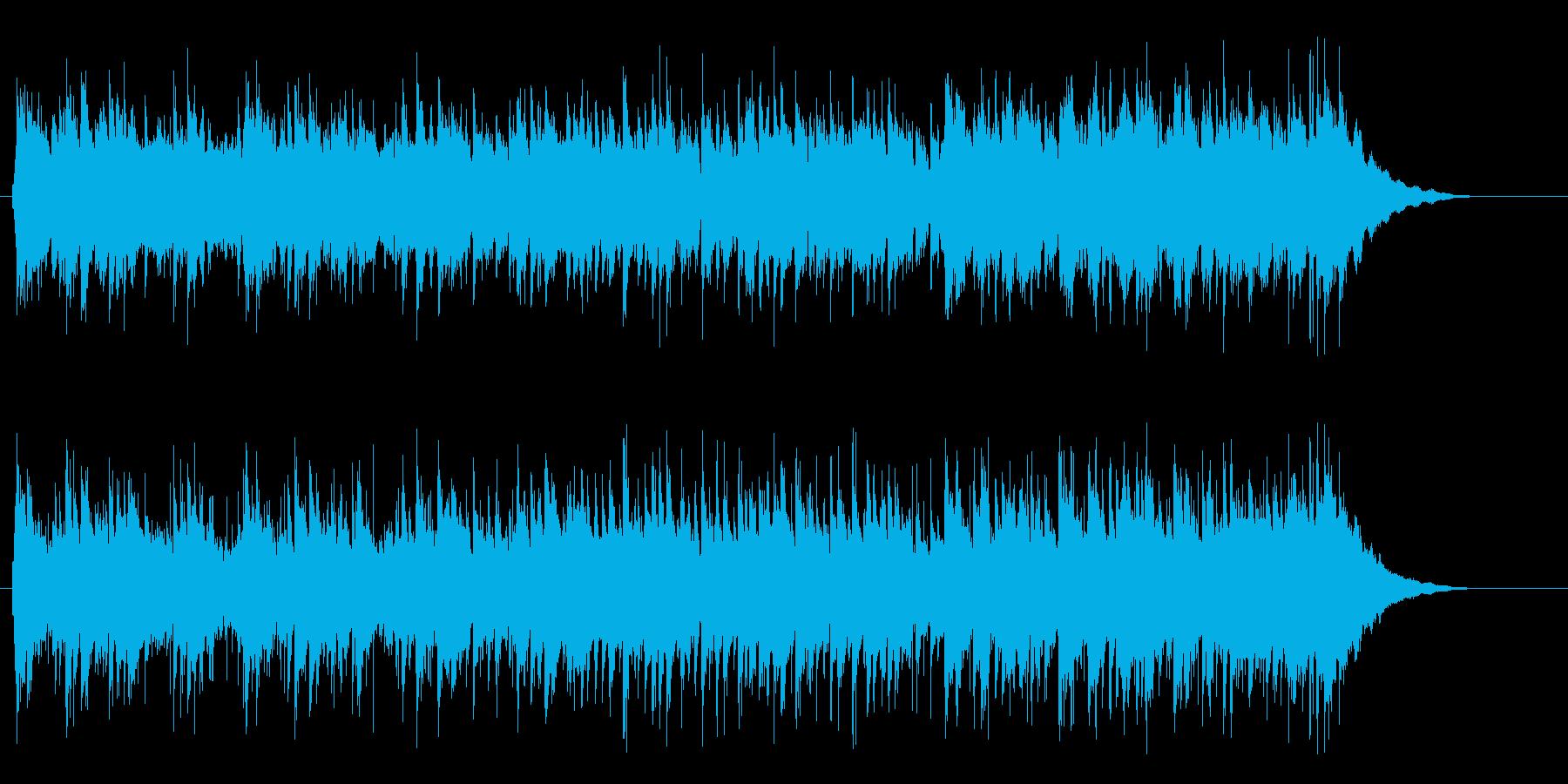 洗練されたギターメロのAORの再生済みの波形