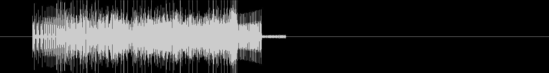ファミコンRPG ゲーム呪文音の未再生の波形