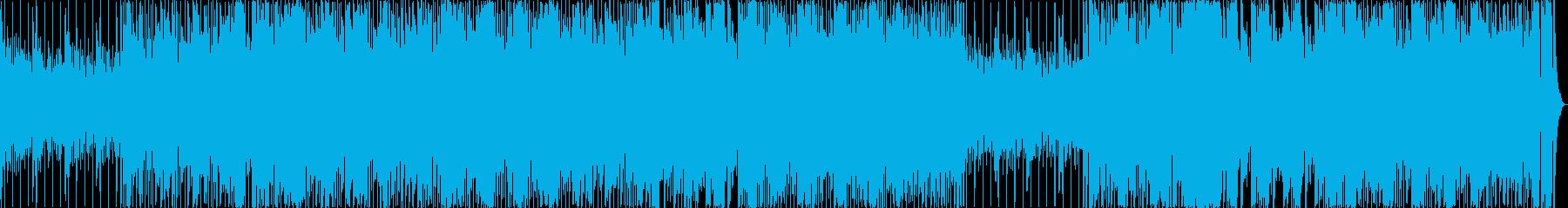 明るいT-SQUAREっぽいフュージョンの再生済みの波形