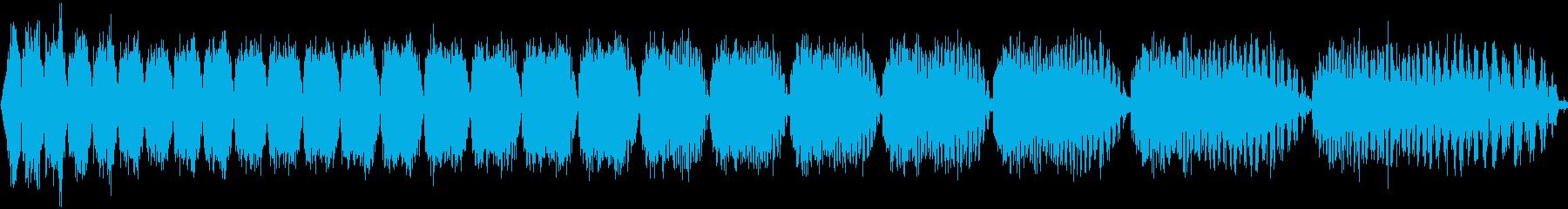 電動スワイプ6の再生済みの波形
