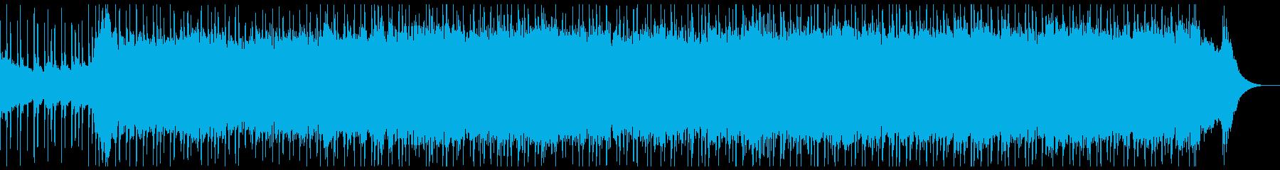 車のCM・企業VPに☆疾走感のあるロックの再生済みの波形