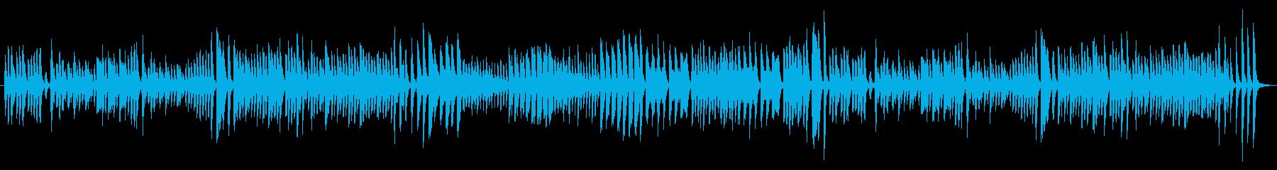 クシコスポスト ピアノ連弾の再生済みの波形
