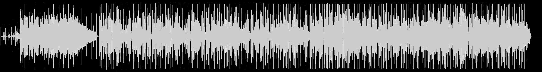 おしゃれな雰囲気のアシッドジャズの未再生の波形