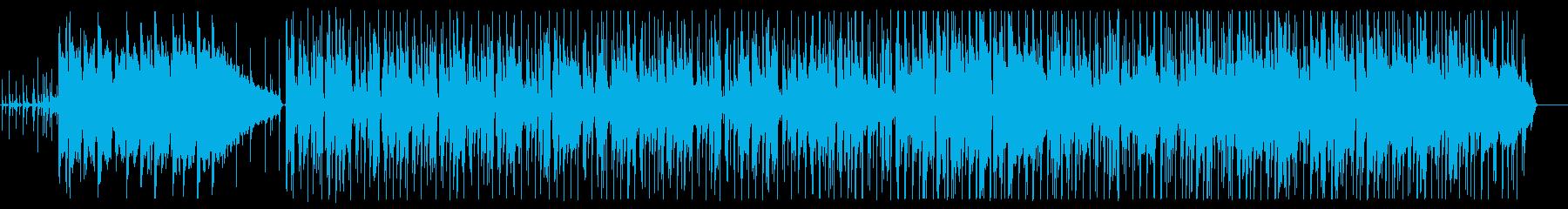 おしゃれな雰囲気のアシッドジャズの再生済みの波形