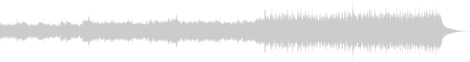 企業VP映像、152オーケストラ、爽快bの未再生の波形