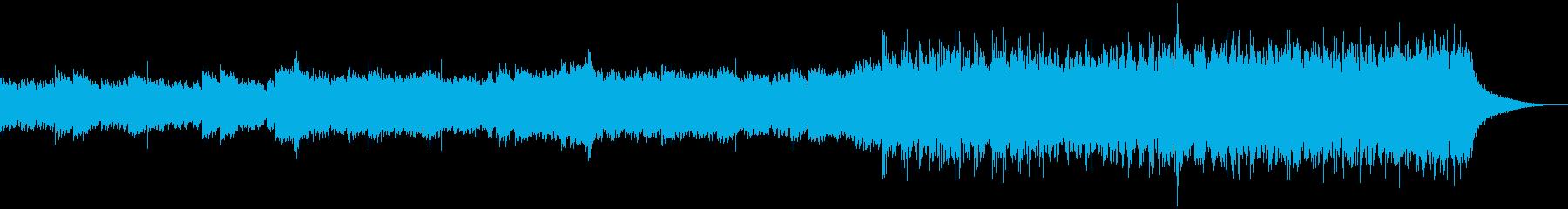 企業VP映像、152オーケストラ、爽快bの再生済みの波形