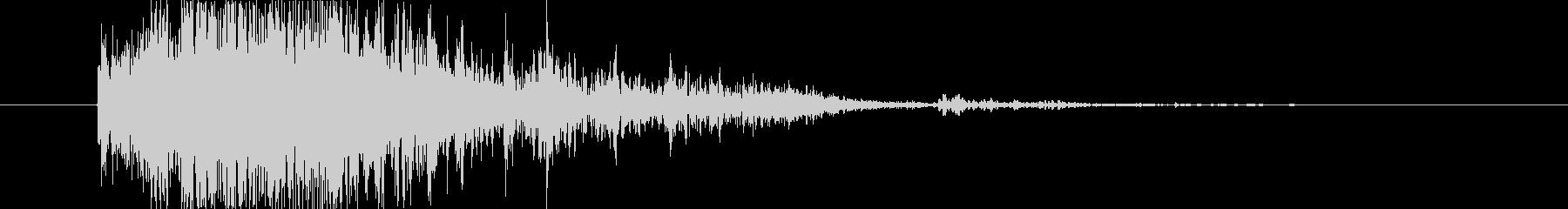 ブレーク ウッドミディアム02の未再生の波形