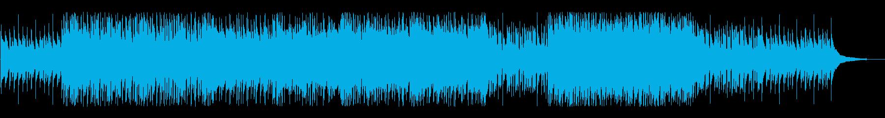オーディオドラマ向けBGM/日常の再生済みの波形