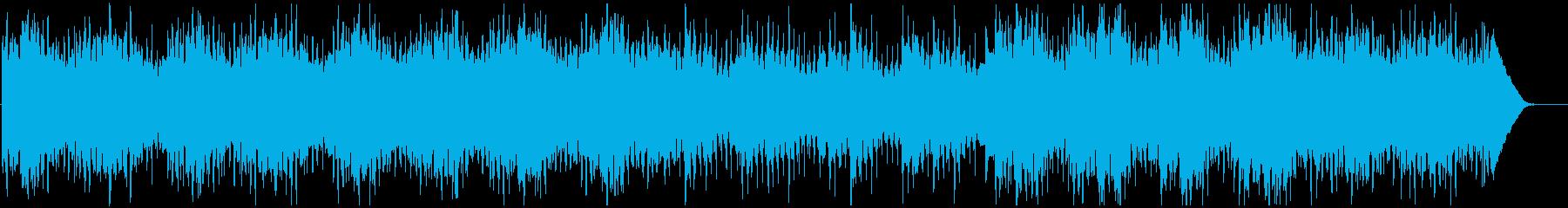新しい ポップ 実験的 ポジティブ...の再生済みの波形