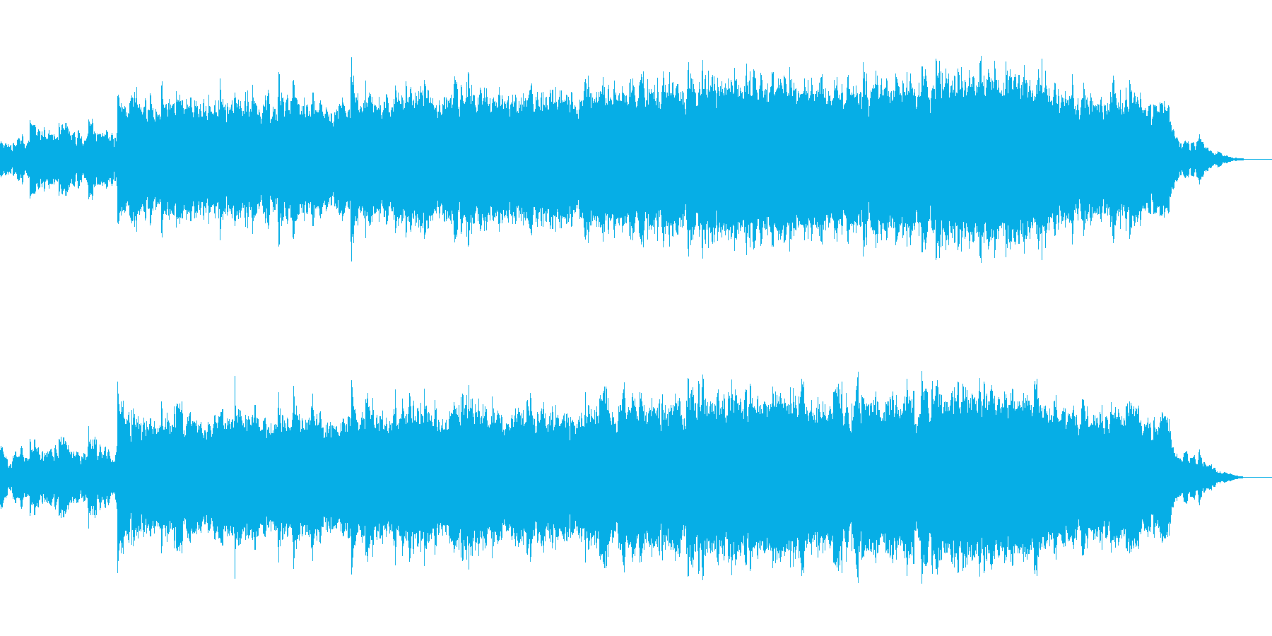 ハープによる幻想的で優美なBGMの再生済みの波形