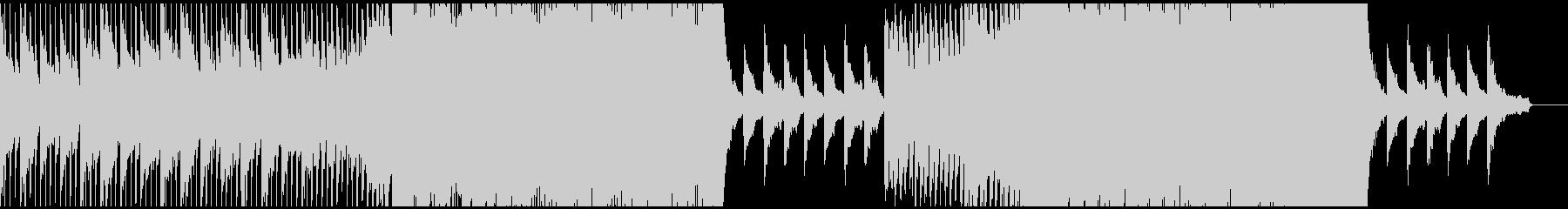 ドラマティックで壮大なBGMの未再生の波形