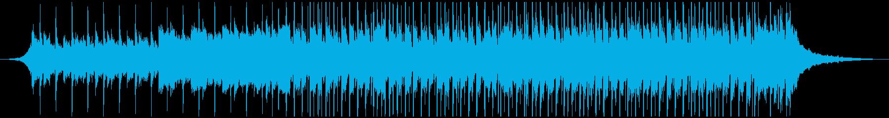 ハッピービートハッピー(55秒)の再生済みの波形
